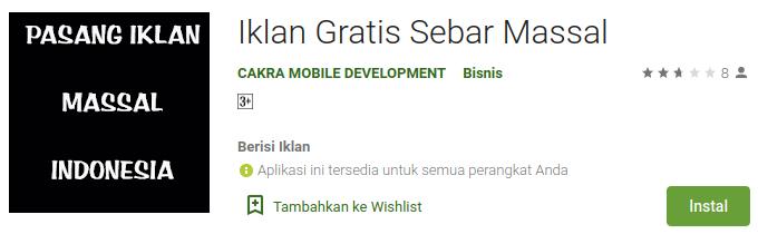 IKLAN BARIS ONLINE GRATIS IKLAN MASSAL SEBAR IKLAN BARIS